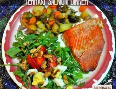 Teriyaki Salmon Dinner Recipe