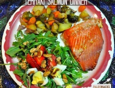 teriyaki salmon dinner paleohacks