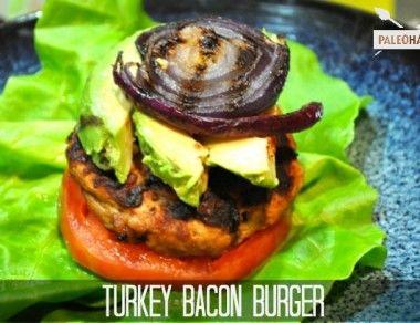 Turkey Bacon Burger Recipe