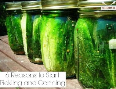 6 Reasons to Start Pickling and Canning