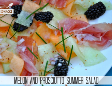 Melon & Prosciutto Summer Salad Recipe