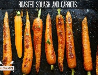 Roasted Squash and Carrots Recipe