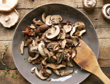 Sauteed Bacon, Mushrooms, and Herbs Recipe