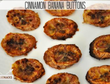 Cinnamon Banana Buttons Recipe
