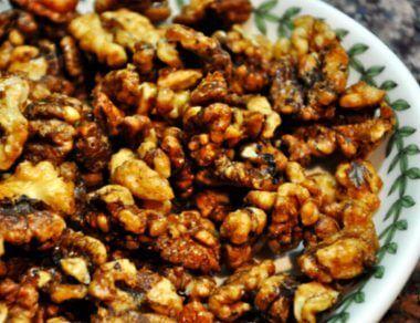 Maple Roasted Walnuts Recipe