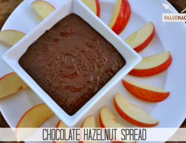 chocolate hazelnut spread paleohacks