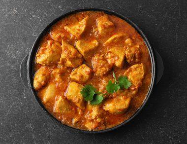 crockpot curry chicken recipe featured image
