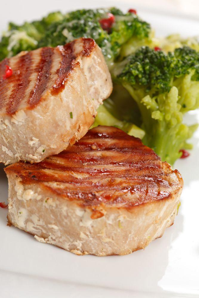Sesame-Crusted Tuna Steaks Recipe | MyGourmetConnection