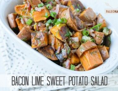 Bacon Lime Sweet Potato Salad