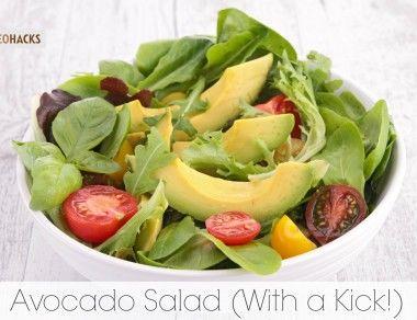 Avocado Salad (With a Kick!)