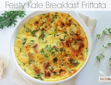 Feisty Kale Breakfast Frittata