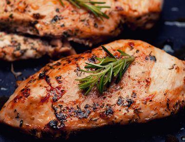 Perfectly Grilled Chicken Breasts from Frozen