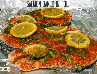Salmon Baked in Foil - Paleohacks