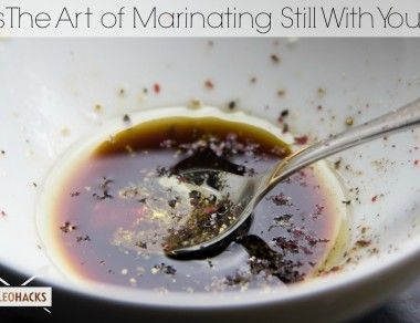 Is The Art of Marinating Still With You?