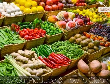 Know Your Produce and How to Clean It - Paleohacks