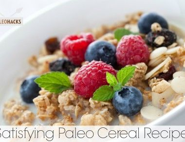 Satisfying Paleo Cereal Recipe