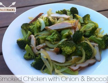 Smoked Chicken with Onion and Broccoli - Paleohacks