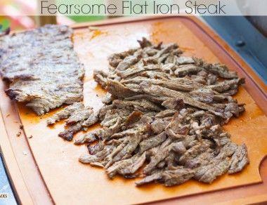 Fearsome Flat Iron Steak