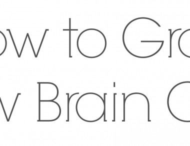How To Grow New Brain Cells