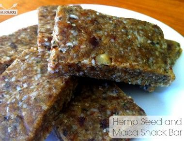 Hemp Seed Maca Snack Bar