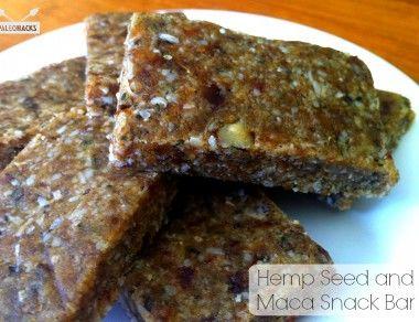 Hemp Seed Maca Snack Bar