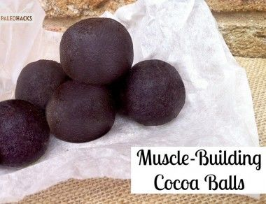 Muscle Building Cocoa Balls