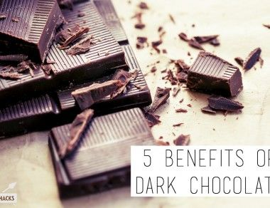5 Benefits of Dark Chocolate