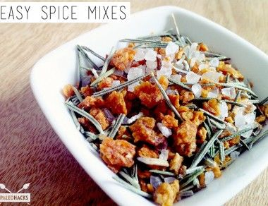Easy Spice Mixes