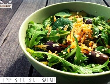 Hemp Seed Side Salad