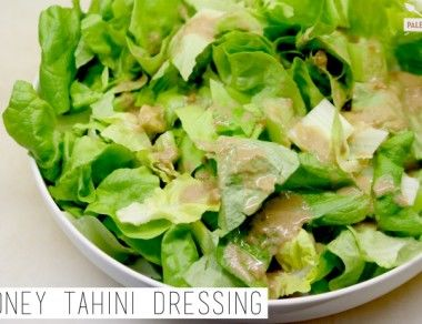 Honey Tahini Dressing