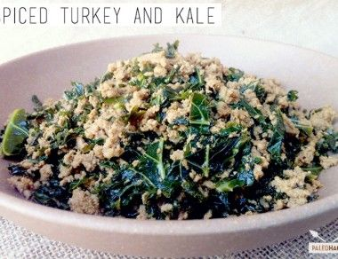 Spiced Turkey and Kale