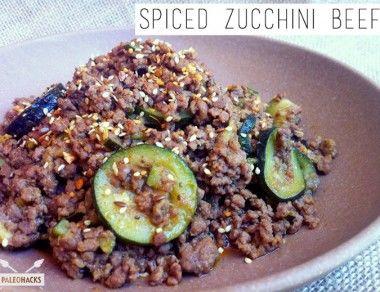 Spiced Zucchini Beef Paleohacks