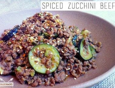 Spiced Zucchini Beef Paleohacks