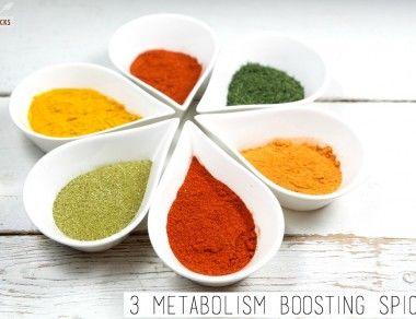 3 Metabolism Boosting Spices