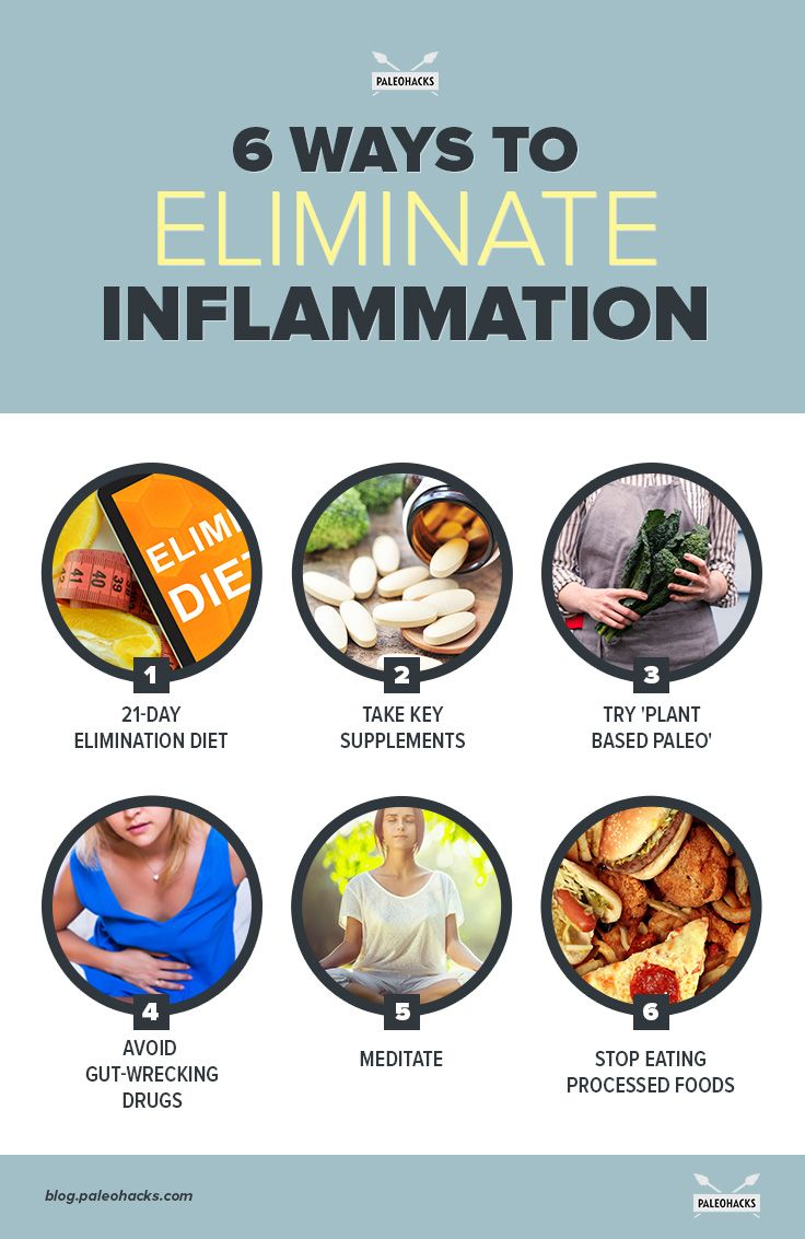 6 Ways To Fight Inflammation