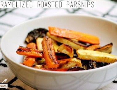 Caramelized Roasted Parsnips