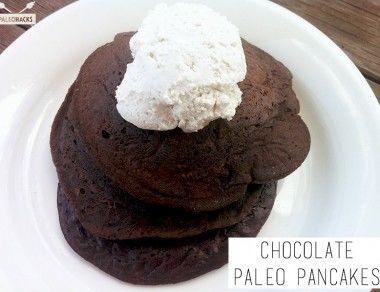 Chocolate Paleo Pancakes