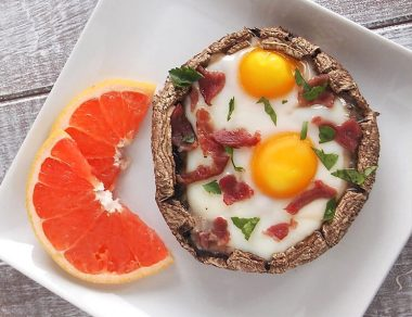 Portobello Breakfast Bakes