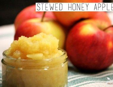 Stewed Honey Apples