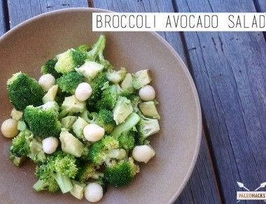 Broccoli Avocado Salad