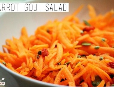 Carrot Goji Salad