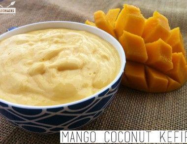 Mango Coconut Kefir