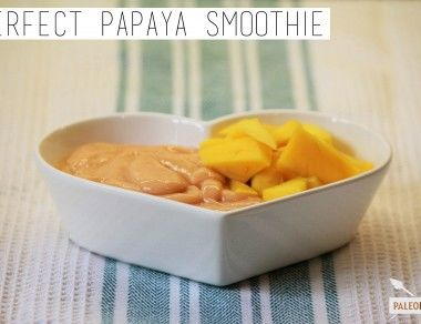 Perfect Papaya Smoothie