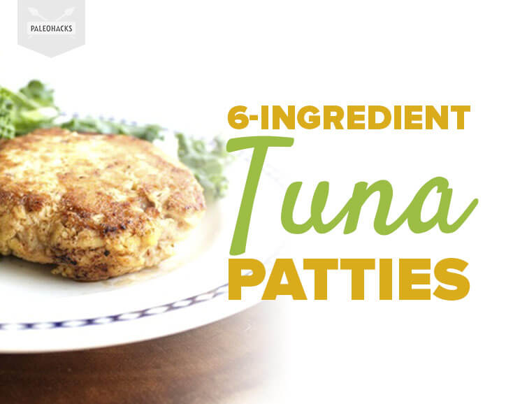 how to make healthy tuna patties