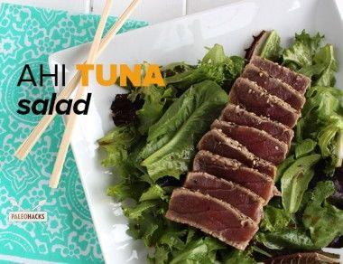 Paleo Ahi Tuna Salad