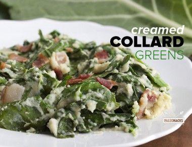 Creamed Collard Greens