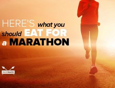Here's What You Should Eat for a Marathon