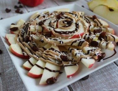 apple nachos recipe