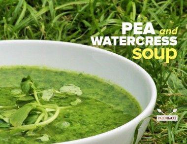 Pea and Watercress Soup Recipe