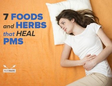 7 Foods and Herbs That Heal PMS
